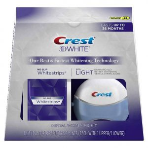 Best Teeth Whitening Strips: Crest 3D White Strips