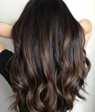 Ombre Dark Brown