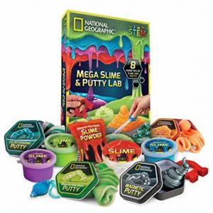 Mega Slime Kit & Putty Lab – National Geographic
